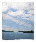 Harbor Entrance Fleece Blanket