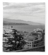 Harbor Lookout - Monte Carlo Fleece Blanket