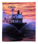 Harbor Pilot Fleece Blanket