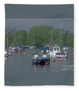 Harbor Rest Fleece Blanket