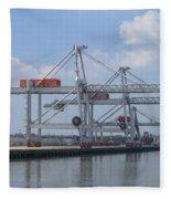 Harbor Rotterdam Fleece Blanket