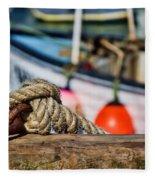 Harbour Knots Fleece Blanket