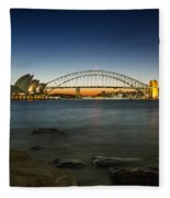 Harbour Night Fleece Blanket
