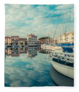Harbour Of Grado Fleece Blanket