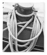 Harbour Rope Fleece Blanket