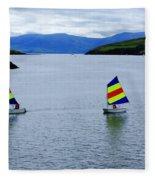 Harbour Sailing Fleece Blanket