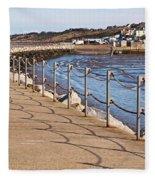 Harbour Wall Promenade Fleece Blanket