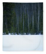 Hard Line Winter Fleece Blanket