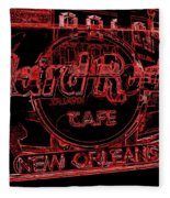 Hard Rock Cafe Nola Fleece Blanket