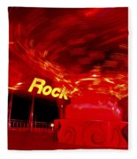 Hard Rock Hard Ride Fleece Blanket