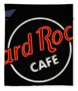 Hard Rock - St. Louis Fleece Blanket