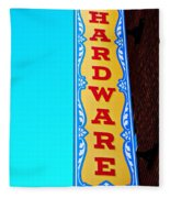 Hardware Store Fleece Blanket