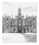 Harlaxton Manor Fleece Blanket