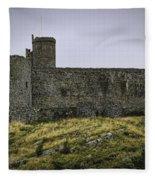 Harlech Castle Fleece Blanket