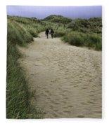 Harlech Dunes Fleece Blanket