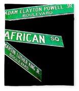 Harlem Crossroads Fleece Blanket