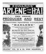 Harlene For The Hair, 1897 Fleece Blanket