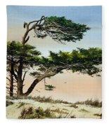 Harmony Of Nature Fleece Blanket