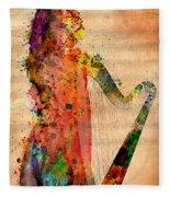 Harp Fleece Blanket