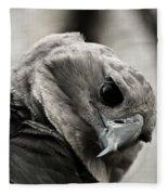 Harpy Eagle Closeup Fleece Blanket
