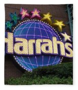 Harrahs Of New Orleans Fleece Blanket
