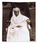 Harriet Tubman Portrait 1911  Fleece Blanket