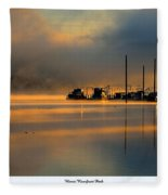 Harris Riverfront Park Fleece Blanket