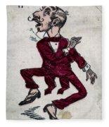Harry Hop Fleece Blanket