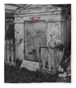Harry T Hays Major General Lafayette Cemetery 1 Dsc05175 Fleece Blanket