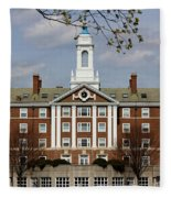 Harvard University Moors Hall Fleece Blanket