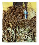 Harvest Art Fleece Blanket