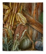 Harvest Corner Fleece Blanket