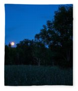 Harvest Moon Fleece Blanket