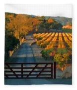 Harvest Morning Fleece Blanket