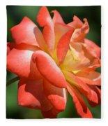 Harvest Rose Fleece Blanket