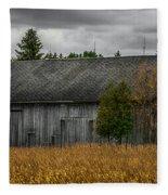 Harvest Season Fleece Blanket