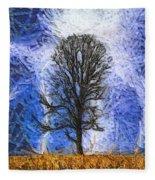 Harvest Storm Fleece Blanket