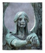 Haserot Weeping Angel Fleece Blanket