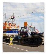 Hastings Lifeboat Fleece Blanket