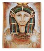 Hathor Rendition Fleece Blanket