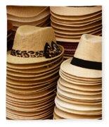 Hats For Sale Salvador Brazil Fleece Blanket