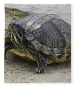 Hatteras Turtle 2 Fleece Blanket