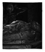 Haunted Crypt Fleece Blanket