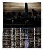 Haunted Lighthouse Fleece Blanket