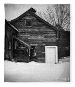 Haunted Old House Fleece Blanket