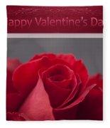 Hau'oli Ka La Aloha Kakou - Happy Valentine's Day Fleece Blanket