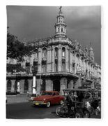 Havana Red Fleece Blanket