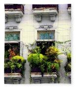 Havana Windows Fleece Blanket