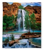 Havasu Cascades Fleece Blanket