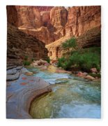 Havasu Creek Fleece Blanket